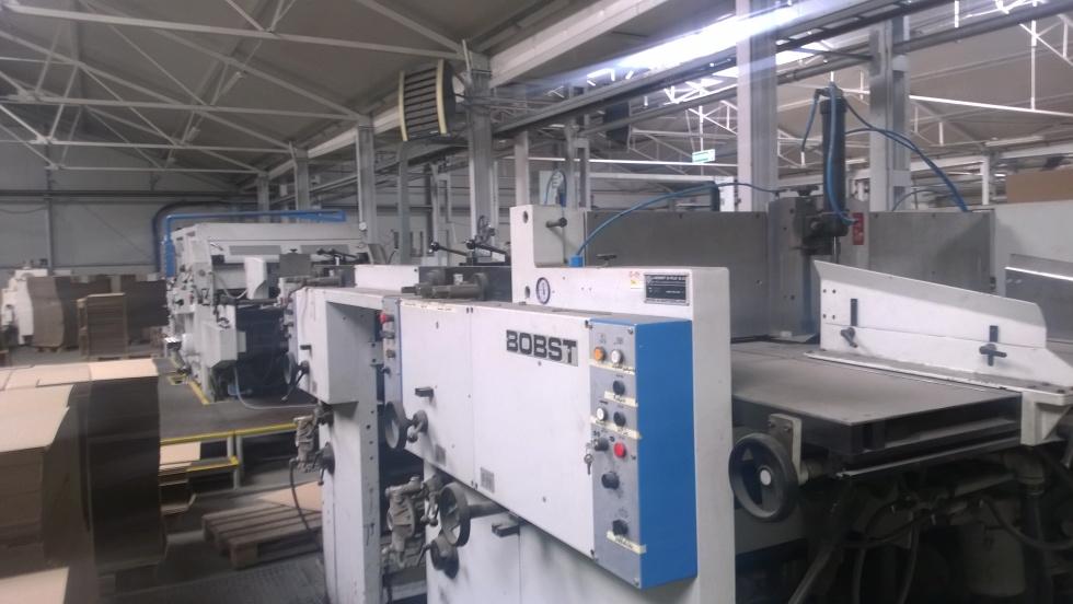 Nowo zakupiona linia produkcyjna BOBST